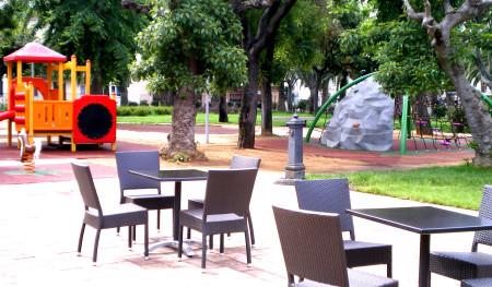 Giardini pubblici sempre aperti vicino a Actinia Accomodation B&B Alghero
