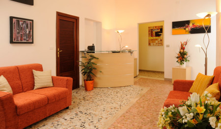 Reception Actinia Alghero B&B
